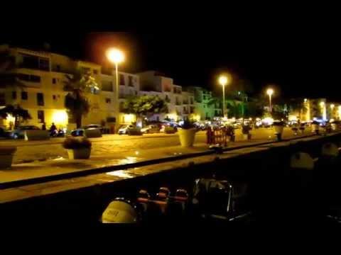 Downtown Ibiza after Midnight (HD) by Saraya
