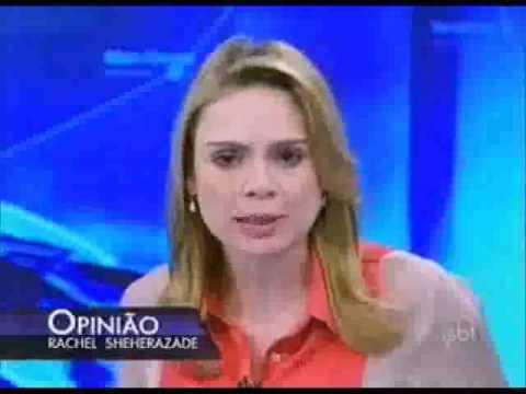 Rachel Sheherazade canta música de Ivete Sangalo ao criticar governo do Ceará (18 02 2013) - SBT.