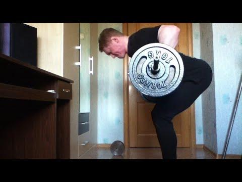 Тяга штанги в наклоне. Упражнение для мышц спины. Техника.