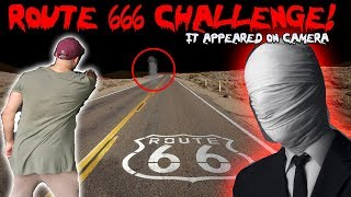 I CAUGHT A GHOST ON CAMERA AND THIS IS WHAT HAPPENED! THE ROUTE 66 CHALLENGE | MOE SARGI