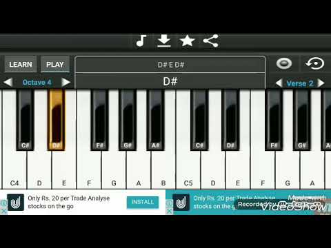 Aadat Piano Version Instrumental ringtone