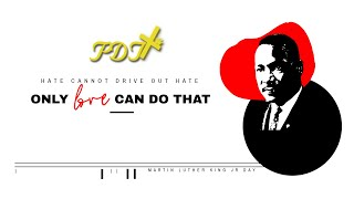 MLK Day 2021- Dr. Martin Luther King, Jr.