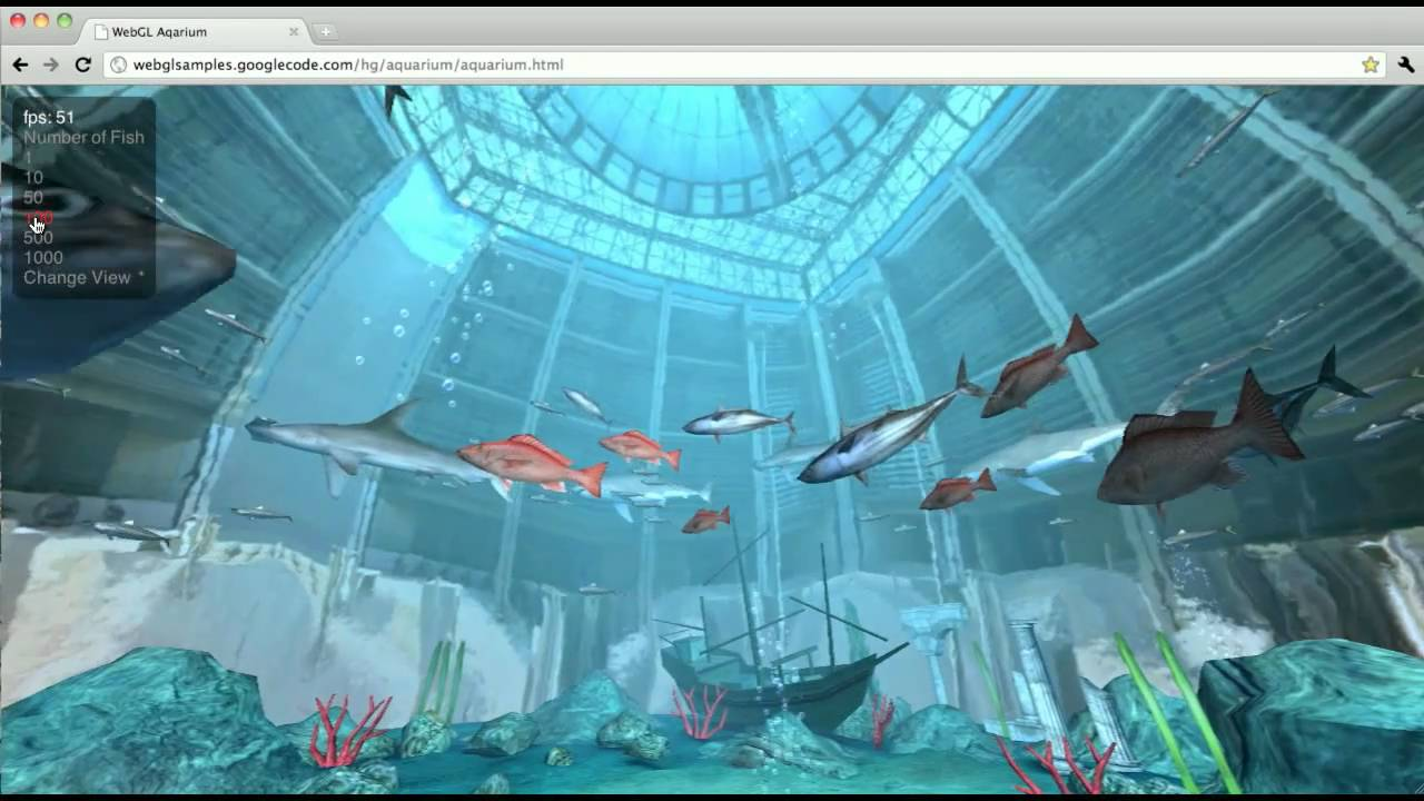 WebGL in Chrome, Experiments Shows OpenGL in the Browser