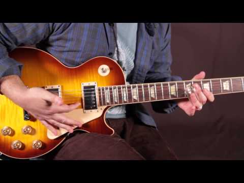 Santo & Johnny, Sleepwalk, 1959 - How to Play on guitar - Lesson Tutorial