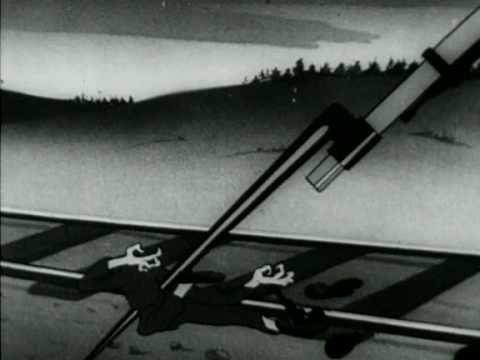 Soviet WWII Cartoon (What Hitler Wants) ENG SUB