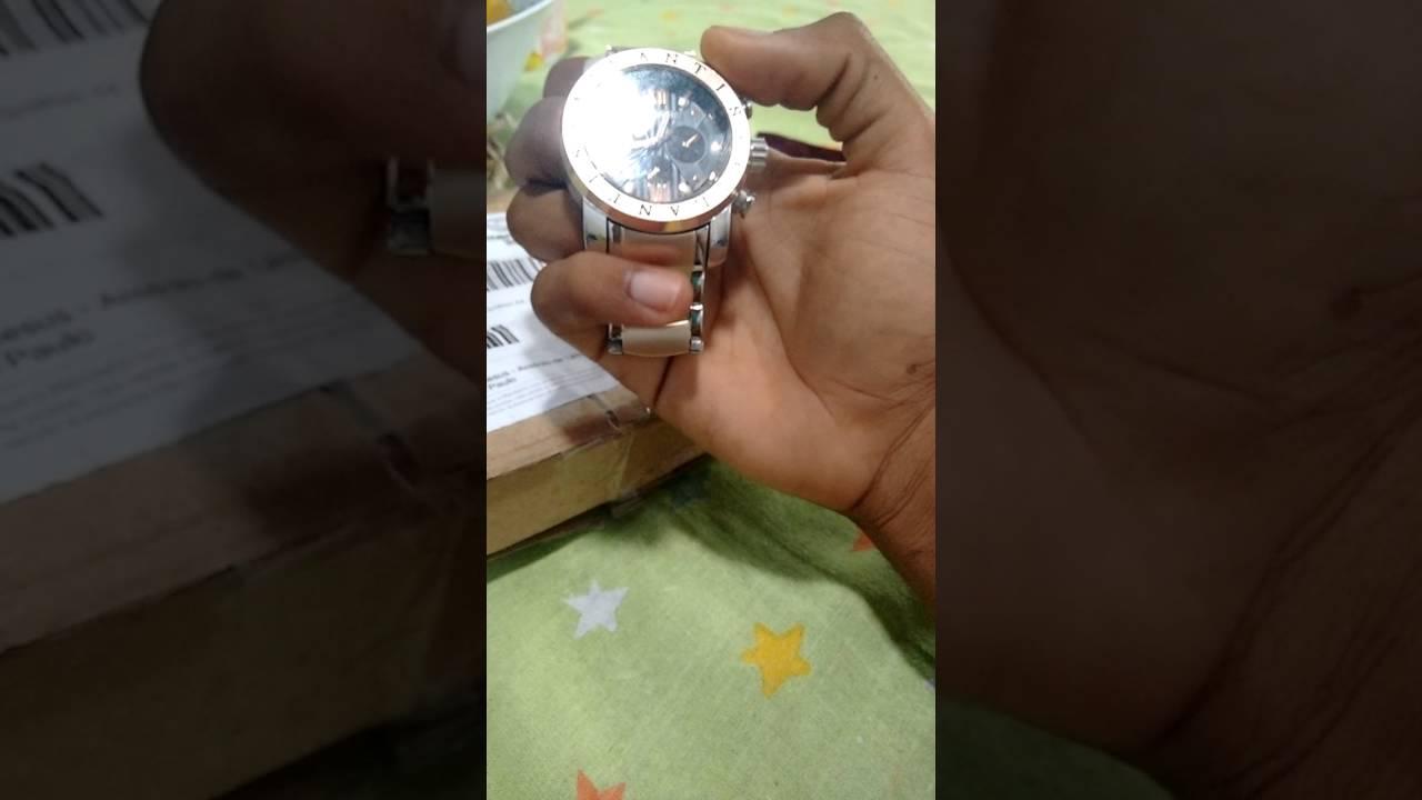 5aa2470176b detalhes do relogio atlantis modelo bvlgari - YouTube