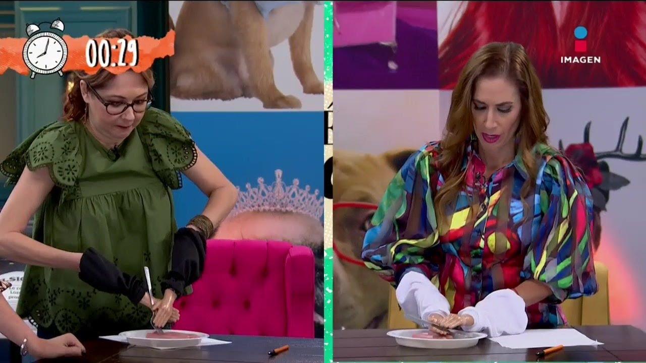 Juego de manitas con Mariana H y Marta Guzmán   Qué Chulada