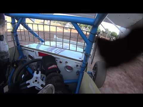 Onboard Plymouth Dirt Track 7/16/16 Sprint Car Heat, B Main