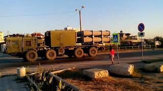 Через Береговое (Феодосия) прошла большая военная колонна 11.09.16(колонна двигалась в сторону Феодосии со стороны Керчи/переправы., 2016-09-12T08:55:29.000Z)