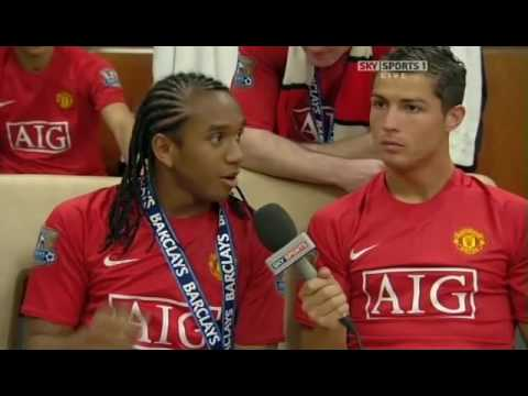 anderson and cristiano ronaldo funny interview