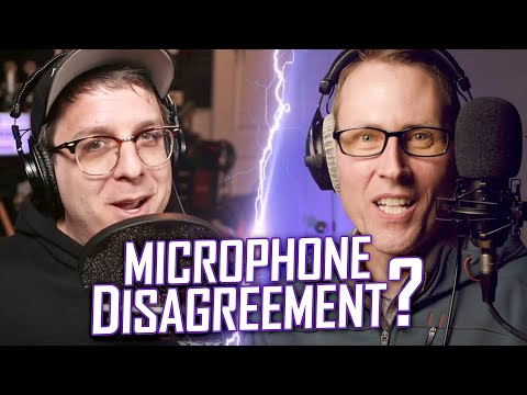 Microphone Disagreement? A Discussion Of Microphones With Bandrew Scott Of Podcastage