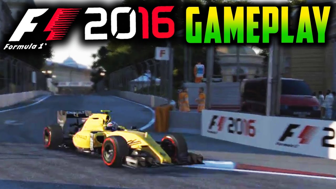 f1 2016 wheel gameplay renault at azerbaijan grand prix youtube. Black Bedroom Furniture Sets. Home Design Ideas
