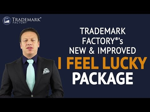 Trademark Factory's New & Improved I Feel Lucky Package | Trademark Factory® FAQ