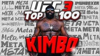 EA SPORTS UFC 3 | Taking KIMBO SLICE to TOP 100 Ranked Online | Advanced Meta (INSANE KNOCKOUTS!)