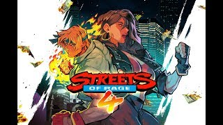 STREETS OF RAGE 4 REVEAL REACTION! BEASTLY GAMER CHANNEL