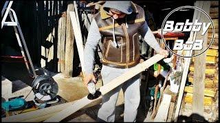 Slefuire lemn cu adaptor pentru flex