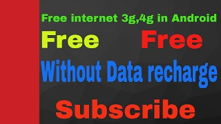 Internet WITHOUT Mobile 3g/4g DATA Available for FREE! Android iPhone Simple Easy Quick!