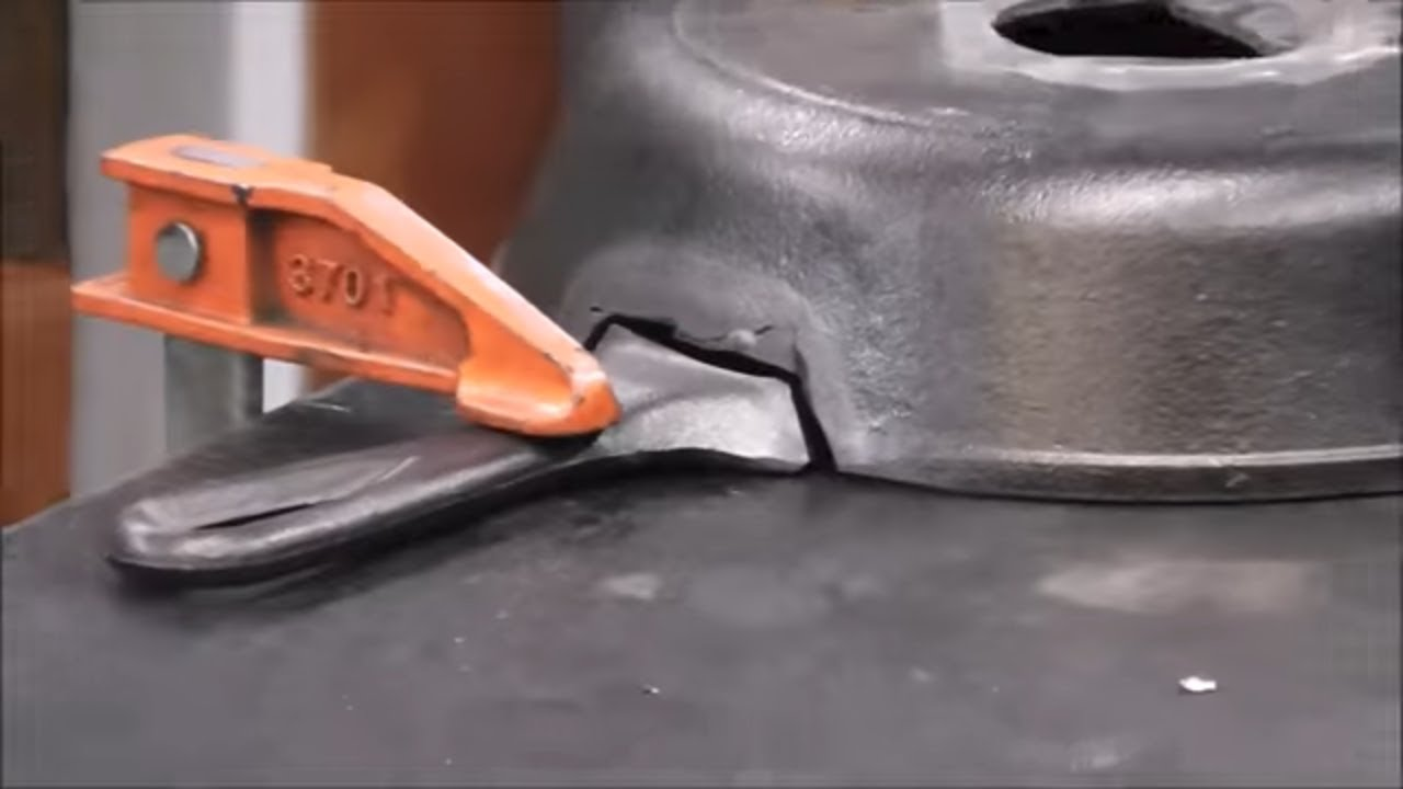Stick Welding Cast Iron Repair Using 7018 Welding Rods Youtube