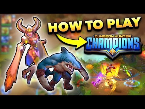 Dungeon Hunter Champions Beginner's Guide! (Review + Gameplay)