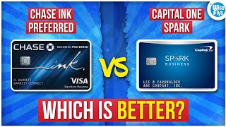 Chase Ink Preferred vs Capital One Spark Miles For Business
