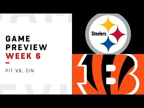 Pittsburgh Steelers vs. Cincinnati Bengals | Week 6 Game Preview | NFL Playbook