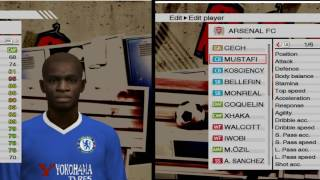 PES 2009 WITH 2016/17 SQUAD UPDATE