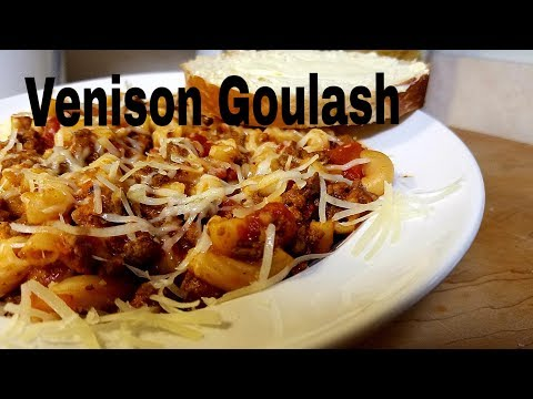 Venison Goulash | Santa Claus Is Not Coming To Town!