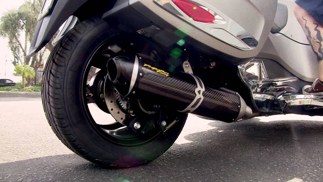 Two brothers racing 2014 spyder rt s1r slip on exhaust systems