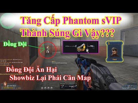Download Youtube: Truy Kích Sinh Tồn - Tăng Cấp Phantom sVIP Ra Súng Gì - Truy Kích Showbiz