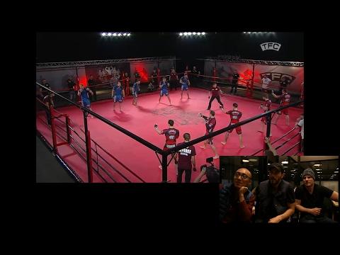 Team MMA Fighting: 5 vs 5 MMA Fight - Latvia vs UK (Pankration vs Boxing)