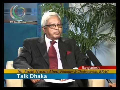 TV SOUTHASIA TALK DHAKA SIR FAZLE HASAN ABED PART ...
