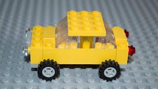 Lego Classic 10696 Машинка, схема збирання.