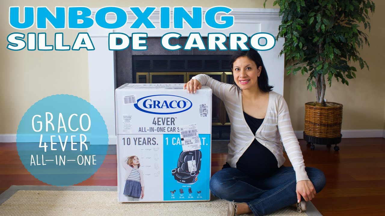 Unboxing silla de carro graco 4ever all in one mundo for Silla 4ever graco