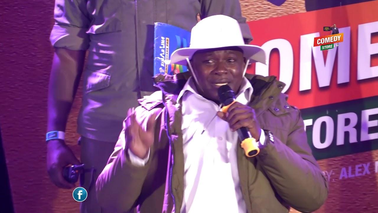 Alex Muhangi Comedy Store Nov 2019 = Mendo M7