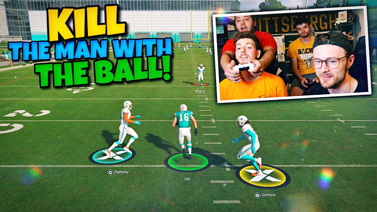 WE MADE A KILL THE MAN WITH THE FOOTBALL MINI GAME FOR YOU TO TRY OUT!!