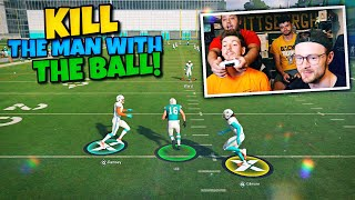The Funniest KILL THE MAN WITH THE FOOTBALL Ever Done!!