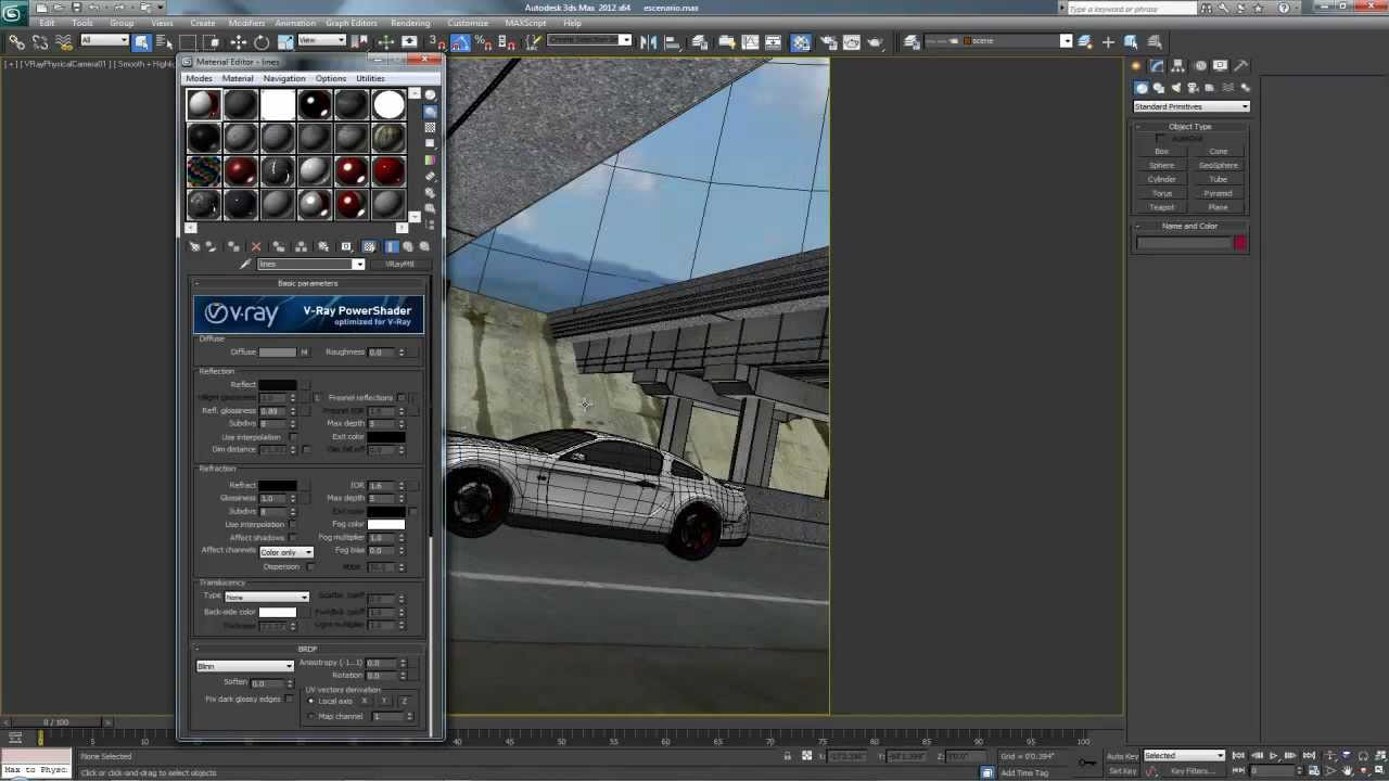 Salvar y abrir librerias de materiales en 3ds max youtube - Materiale specchio 3ds max ...