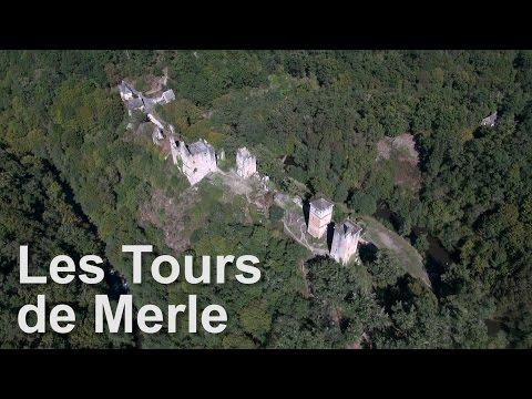 Les Tours de Merle - Vues du Ciel - Drone Expert 2016