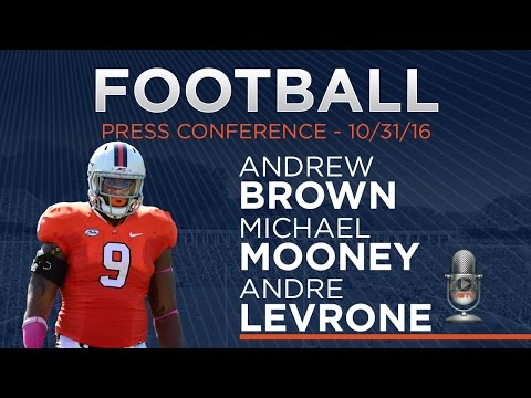 FOOTBALL: Player Press Conference - 10/31/16