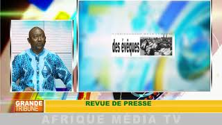 REVUE DE PRESSE : GRANDE TRIBUNE DU 28 08 2018