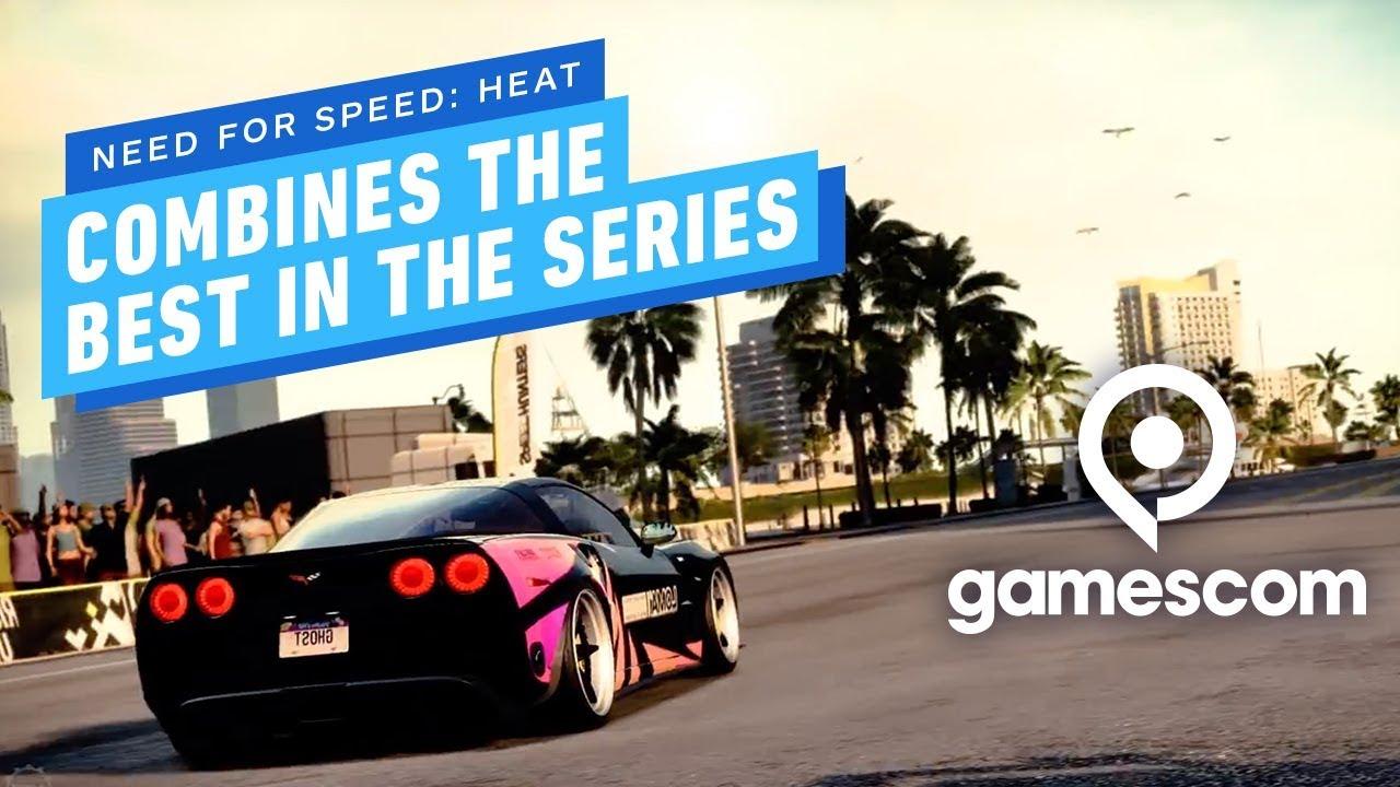 Need For Speed: Heat fühlt sich an wie eine beste Of-Zusammenstellung - Gamescom Demo Impressions + video