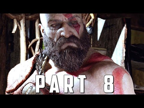 GOD OF WAR Walkthrough Gameplay Part 8 - SOUL EATER (God of War 4)