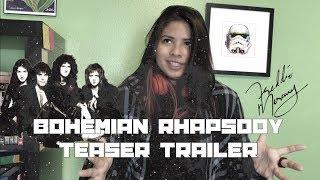 AWESOME TRAILER MUSIC   Bohemian Rhapsody teaser trailer reaction   Flytte Kartina - Zadie Anderson