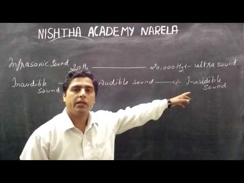 8th,9th science physics sound infrasonic ,ultrasonic and audible in Hindi