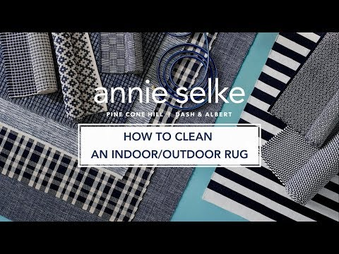 How To Clean An Indoor/Outdoor Rug