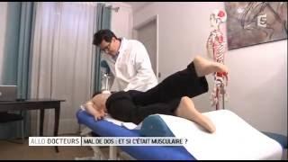Thérapie PCP méthode détente des contractures des muscles
