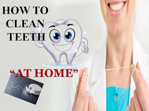 """How to clean teeth """"At Home""""- Dental Flossing"""
