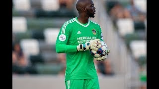 SAVE: Brian Sylvestre makes two crucial back-to-back saves in the 90th minute
