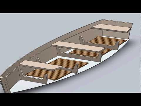 Лодка из дерева своими руками чертежи