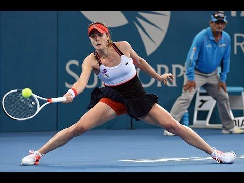 2017 Brisbane International Quarterfinals | Alizé Cornet vs Dominika Cibulkova | WTA Highlights